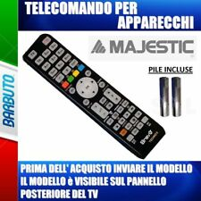 TELECOMANDO UNIVERSALE PER APPARECCHI MARCA MAJESTIC MODELLO TVD 224 LED