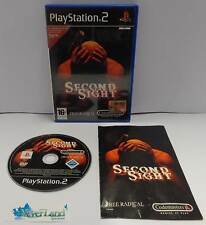 Console Game Gioco SONY Playstation 2 PS2 Play Station PAL ITALIANO SECOND SIGHT