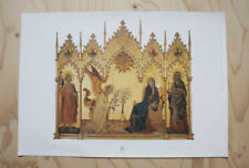 Simone MARTINI Annunciazione STAMPA dalla Galleria degli Uffizi