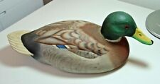 Vintage 1983 Joe Revello Hand Crafted Mallard Duck Hen Decorative Decoy #16112