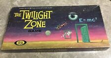 Vintage RARE The Twilight Zone CBS TV Show Board Game 100% Complete Ideal 1964