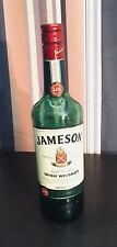 Jameson Irish Whiskey Bottle .750 L Empty and Ready For Display/Mancave/Projects