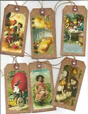 12 PRIMITIVE TAGS~Sweet Easter!~HANG TAGS~Special! Set II