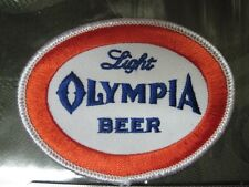 BEER PATCH OLY LIGHT OLYMPIA LIGHT BEER PATCH LOOK AND BUY! SMALL SIZE LOOKb