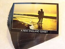Identical Postcard Lot 25! A New England Sunset With Couple Invitations Crafts 5