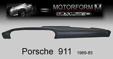 PORSCHE 911 912 930 Armaturenbrett-Cover Abdeckung dashboard dash cover SCHWARZ