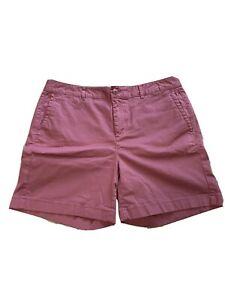 L.L. Bean Women's Shorts Pick Sz 10 Cotton Spandex