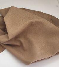 Italian Lambskin Leather Skins Embossed Bush Abstract Nubuck Mustard Skin Tk312