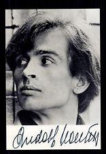 Rudolf Nurejew ++Autogramm++ ++ Tänzer ++CH 111
