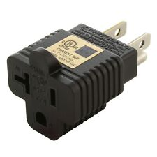 25-Pack Household Electrical Adapter NEMA 5-20R to NEMA 5-15P by AC WORKS®