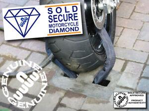MOTORBIKE SECURITY GROUND ANCHOR Genuine Yanchor (original) INSURANCE APPROVED