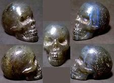 Crâne de Cristal en Labradorite, Lithotherapie, Meditation, Decoration