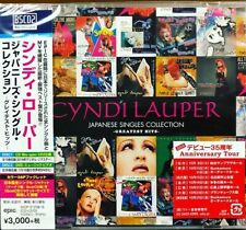 CYNDI LAUPER Japanese Single Collection -Greatest Hits- CD + DVD