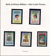 Central Africa Princess Diana Stamps Mint Never Hinged Lot 3344D