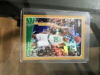 2009-10 TOPPS CHROME RAY ALLEN GOLD REFRACTOR 10/50 CELTICS RARE SP #7