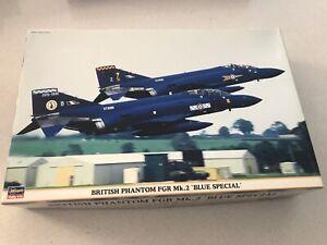 "Hasegawa. British Phantom FGR Mk.2 ""Blue Special"".  1/48  Plastic Model kit"