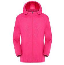 Ultra Light Rainproof Suit Windkicker Jacket Men Women Breathable Waterproof UK