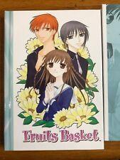 Official Fruits Basket Hardcover Journal! Natsuki Takaya Rare! Tohru Kyo Yuki