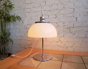 Vintage 60s 70s Retro Mid Century Modern Space Age UFO Guzzini Faro Table Lamp