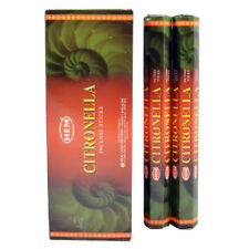 Lot Of 20 Stick Citronella Incense Hem ~ 1 Tube Of 20 Sticks Fresh Stock
