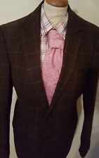 Harvey & Jones Mens Fabulous  Check Jacket Size 40