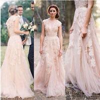 New white/ivory Wedding Dress Bridal Gown Custom Size: 6 8 10 12 14 16 18 20+