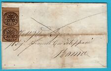 ITALY cover sheet 1862 to Rome