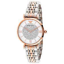 Emporio Armani Women's Silver Case Wristwatches