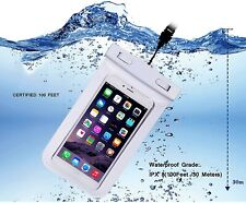 Waterproof Phone Case Cover Universal Mobile Bag Pouch Touch For iPhone Samsung