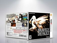 Bravely Default - 3DS - Replacement - Cover/Case - NO Game - US