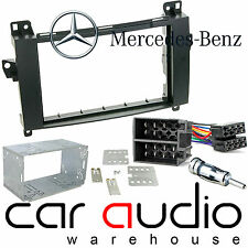 Mercedes Benz Vito W639 Car Radio Double Din Fascia & Fitting Kit DFPK-23-04