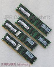 16GB 4x 4 GB RAM HP Speicher 405477-061 DDR2 PC2-5300P ECC Reg SERVER SAMSUNG