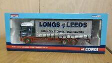 Corgi CC13613 Rigids Daf CF Curtainside  J. Long & Sons Ltd Leeds. No. 0001/2110