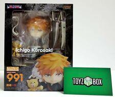 In STOCK Nendoroid Bleach Ichigo Kurosaki 991 Action Figure