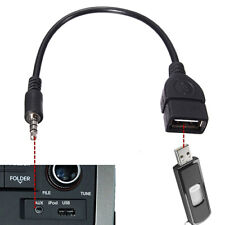 3.5MM MALE AUDIO AUX-IN-JACK TO USB 2.0 TYPE A FEMALE OTG CONVERTER CABLE FUN