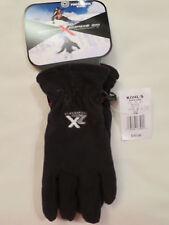 Zero X Posur Performance Fleece Winter Gloves Black  Youth S/M  $30.