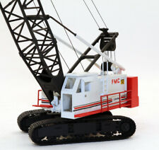 Custom Thomas Kelly White FMC Link-Belt LS338 Tracked Lift Crane 1/87 HO