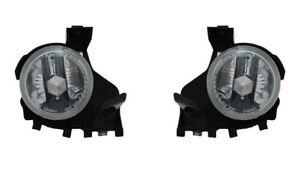 For 2008-2010 Subaru Impreza Fog Light Lamp PAIR Left Side + Right Side
