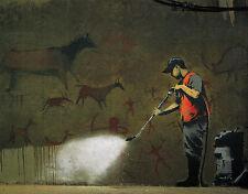 Powerwash by Banksy Urban Street Graffiti Print Poster 11x14