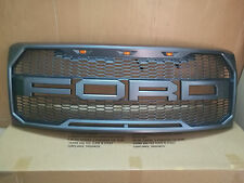 2009-2014 Ford F-150 F150 Raptor Style Conversion OEM Grille Grill W F+R