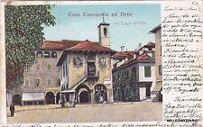 # ORTA: CASA COMUNALE  n. 155 LAGO d'ORTA  1903
