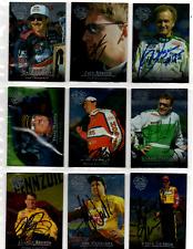 NASCAR 1996 Upper Deck autographed card lot