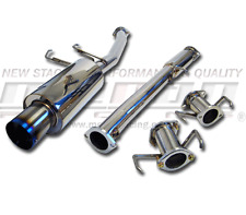 MEGAN RACING CAT BACK EXHAUST FOR 95-99 ECLIPSE GSX 2DR HB 2G D33A AWD 4WD 4G63