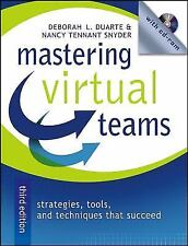 Mastering Virtual Teams: Strategies, Tools, and Techniques That Succeed New w/CD