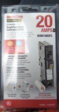 Square D Homeline Hom120df Hom120dfc Dual Function 20 Amp