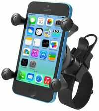 RAM EZ-Strap Handlebar Rail Mount w/ X-Grip Cradle fits iPhone 5, 5s, 5C, 6, 6s