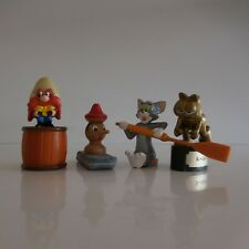 Lot de 4 figurines PINOCCHIO SYLVESTRE IL+CATTIVO ©PAWS vintage collection