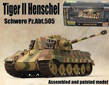 WWII German King Tiger II Henschel Schwere Abt.505 1/72 tank diecast Easy model