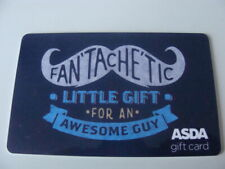 CARTE CADEAU-GIFT CARD- (uk)-ASDA- FAN TACHE TIC