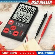 Adms7 Portable Digital Multimeter Auto Acdc Voltage Meter Ohm Tester Lcd